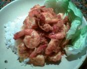 red chili shrimp